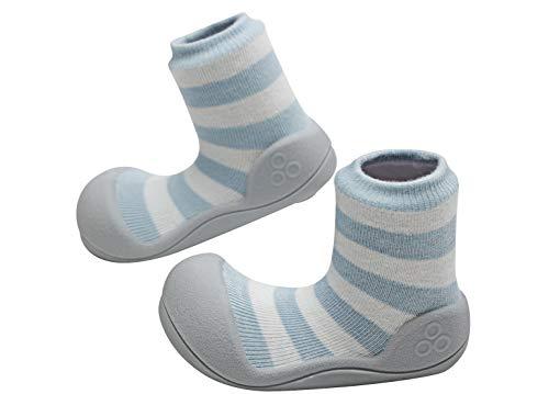 Attipas - ergonomische Baby Lauflernschuhe, atmungsaktive Kinder Hauschuhe ABS Socken Babyschuhe...