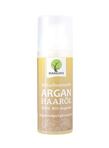 Bio Arganöl Haaröl mit frischen, fruchtigen Duft - Argan Körperöl kaltgepresst für Haare, Haut...