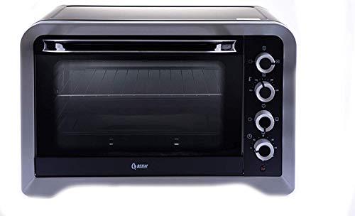 Beleaf Minibackofen 45 L, 2000 Watt mit Timerfunktion, Umluft und Innenbeleuchtung, Drehspieß für...