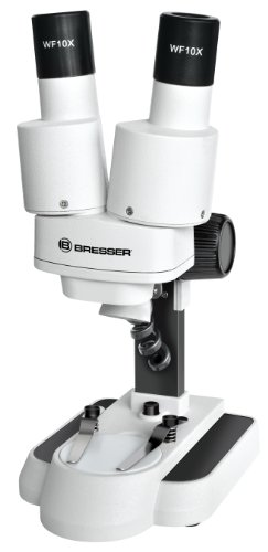 Bresser 3D Stereo Mikroskop Biolux ICD 20x mit 20x Vergrößerung für Kinder und Erwachsene zur...