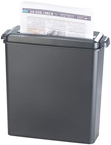 General Office Papierschredder: Aktenvernichter für 6 Blatt A4 und Karten, Streifenschnitt, 8 Liter...