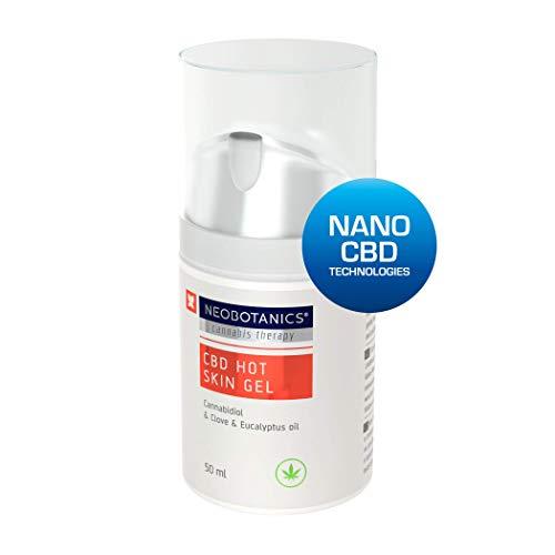 NEOBOTANICS® Nano CBD Hot Skin Schmerzgel. Wärmendes CBD Gelenk- und Muskelgel mit dem Wirkstoff...