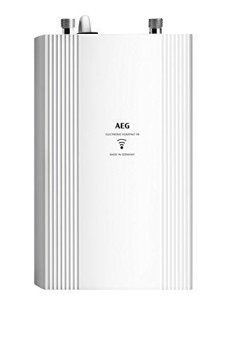 AEG Haustechnik Elektronischer Durchlauferhitzer DDLE Kompakt FB 11/13 für die Küche, umschaltbar...