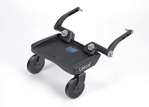 Lascal BuggyBoard Mini 3D, Kinderbuggy Trittbrett mit strukturierter Stehfläche, Kinderwagen...