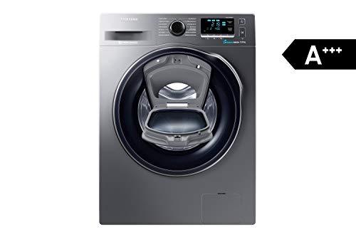 Samsung WW80K6404QX/EG Waschmaschine FL/A+++/116 kWh/Jahr/1400 UpM/8 kg/Add Wash/WiFi Smart...