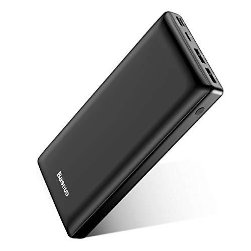 Baseus Power Bank Externer Akku 30000 mAh, USB C Schnelles Aufladen Tragbares Ladegerät für...