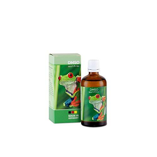 DMSO - 99,9% pharmazeutische Reinheit in der Braunglasflasche mit Dosierhilfe Ph. Eur. Qualität -...