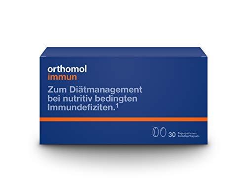 Orthomol immun 30er Tabletten & Kapseln - Vitamine & Spurenelemente - Komplex zur Unterstützung...