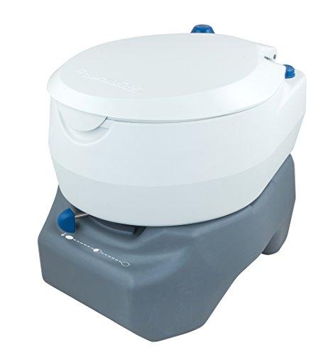 Campingaz Campingtoilette, Chemietoilette, chemische Toilette mit antimikrobiellem WC-Sitz und...