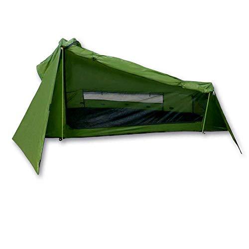 mapuera - Ultraleichtes Trekkingzelt Trek Santiago - grün, 1,25kg, kleines Packmaß, auch mit...