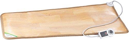infactory Elektrische Fußmatte: Beheizbare Infrarot-Fußboden-Matte, 105 x 55 cm, bis 60 °C, 150...