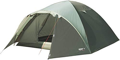High Peak Kuppelzelt Nevada 4, Campingzelt mit Vorbau, Iglu-Zelt für 4 Personen, doppelwandig,...