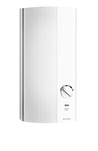 AEG Haustechnik AEG elektronischer Durchlauferhitzer DDLE Basis 18/21/24 kW, umschaltbar, druckfest,...