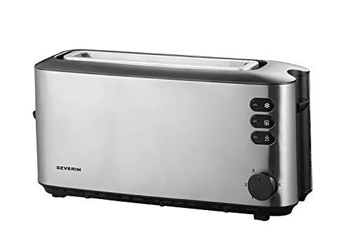 SEVERIN AT 2515 Automatik-Toaster (1.000 W, 1 Langschlitzkammer, Für bis zu 2 Brotscheiben)...