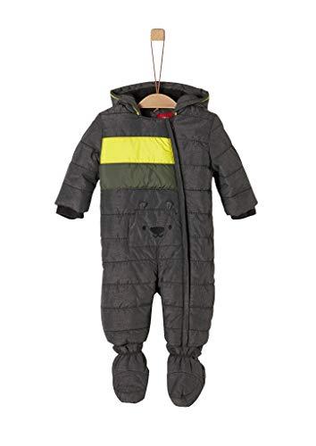 s.Oliver RED LABEL Unisex - Baby Winter-Overall mit Fleecefutter dark grey 80