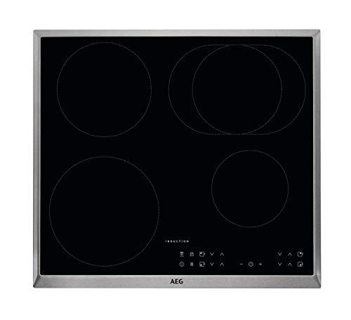 AEG IKB6431AXB Autarkes Kochfeld / Herdplatte mit Touchscreen, Topferkennung & Hob²Hood-Funktion /...