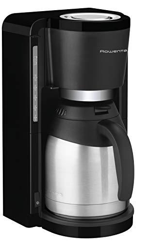 Rowenta CT3818 Filterkaffeemaschine Adagio Milano | Edelstahl- Thermokanne | 10-15 Tassen | 850 Watt...