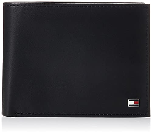 Tommy Hilfiger ETON CC FLAP AND COIN POCKET AM0AM00652 Herren Geldbörsen 13x10x2 cm (B x H x T),...