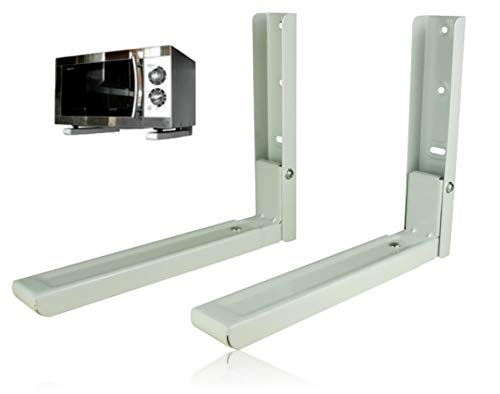 Bayli Mikrowellenhalterung Ausziehbar 31-47,5cm – Microwelle Tragkraft 40kg – Halter für...