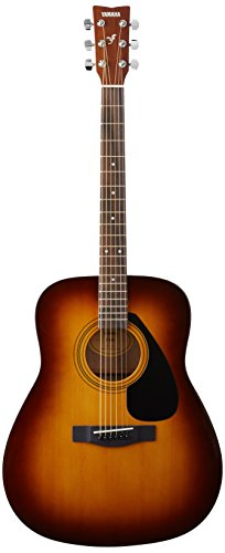 Yamaha F310 TBS Westerngitarre braun sunburst – Hochwertige Dreadnought-Akustikgitarre für...