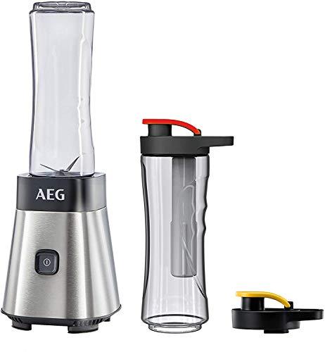 AEG MiniMixer SB 2700 Standmixer (0,4 PS-Power-Motor, 23.000 U/Min, 2 spülmaschinen- und bruchfeste...