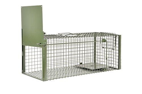 KrapTrap® Marderfalle und Katzenfalle – 75 x 29 x 28 cm Lebendfalle um Marder, Katzen, Hasen und...