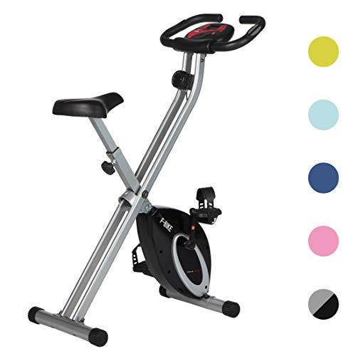Ultrasport Heimtrainer F-Bike Advanced, LCD-Display, klappbarer Hometrainer, verstellbare...