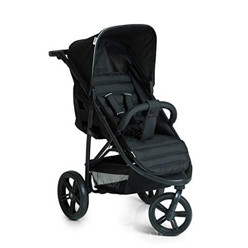Hauck Rapid 3 Dreirad Buggy bis 25 kg mit Liegefunktion ab Geburt, klein zusammenklappbar,...