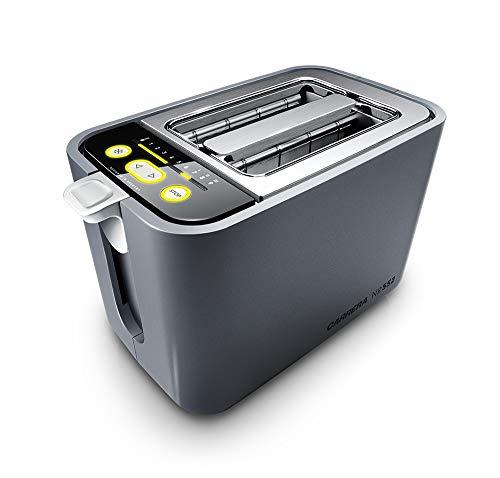 CARRERA Toaster No 552 | Brötchenaufsatz | Doppelschlitz | 4 glasummantelte...