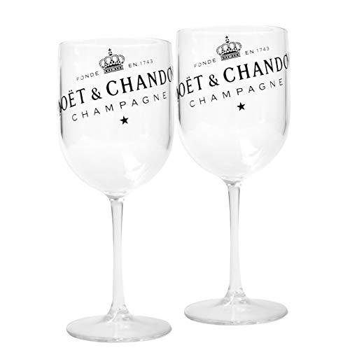 Moët & Chandon Ice Imperial Champagnerglas - Kunststoff (Gold, 6)
