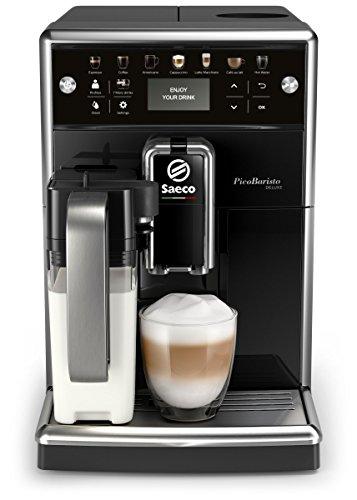 Saeco PicoBaristo Deluxe SM5570/10 Kaffeevollautomat, 12 Kaffeespezialitäten (integriertes...
