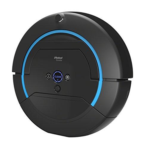 iRobot Scooba 450 - Nasswisch-Roboter (3-Stufen Reinigungssystem) schwarz/blau