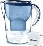 BRITA Wasserfilter Marella XL blau inkl. 1 MAXTRA+ Filterkartusche – Großer BRITA Filter zur...