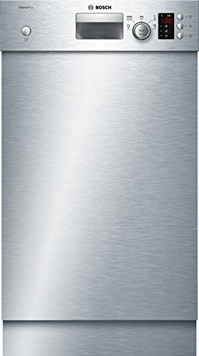 Bosch SPU25CS03E Serie 2 Unterbau-Geschirrspüler / A+ / 45 cm / Edelstahl / 220 kWh/Jahr / 9 MGD /...