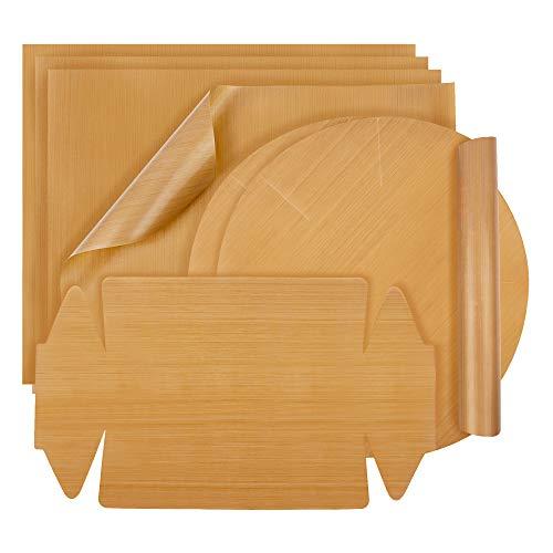 BINMAL® Dauerbackfolie (7er Set) - Zero Waste Backpapier - BPA FREI - spülmaschinenfest &...