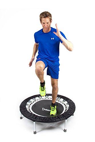 MaXimus Pro Mini Trampolin für Erwachsene   Hochwertiger Indoor Rebounder für Home und Gym Fitness...