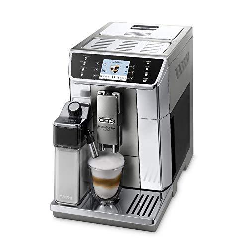 De'Longhi PrimaDonna Elite ECAM 656.55.MS Kaffeevollautomat mit Milchsystem, Cappuccino und Espresso...