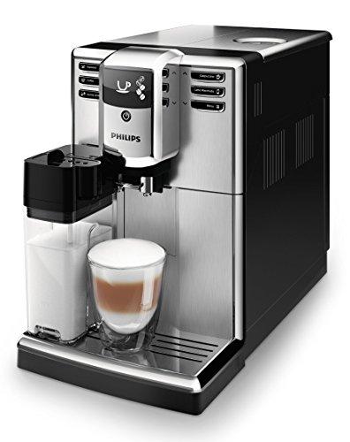 Philips 5000 Serie EP5365/10 Kaffeevollautomat, 5 Kaffeespezialitäten (integriertes Milchsystem)...