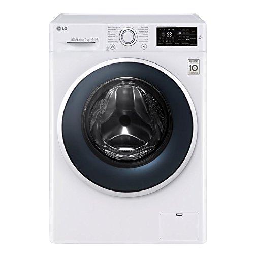 LG F 14WM 9EN0 Waschmaschine Frontlader / A+++ / 1400 UpM / NFC - Waschprgramm - Download / 6 Motion...