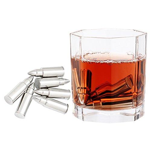 Grenhaven 9er Set Whisky-Steine Grau aus natürlichem Speckstein- on The Rocks Kühlsteine mit...