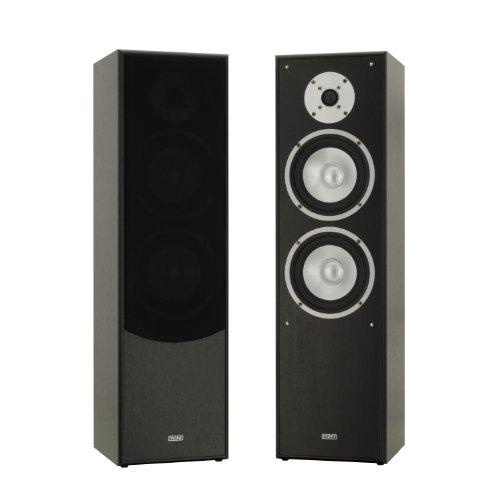 mohr 1 Paar Standlautsprecher SL10 schwarz, Lautsprecherboxen, HiFi Klang zum günstigen Preis