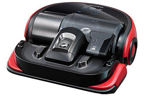 Samsung Roboter Staubsauger VR20J9020UR schwarz/rot/silber