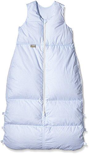 Climarelle Daunenschlafsack, längenverstellbar, Alterskl. älter 24 Monate, Vichy bleu, 130 cm