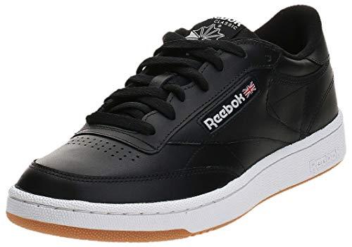 Reebok Herren Club C 85 Fitnessschuhe, INT-Black/White-Gum, 42 EU