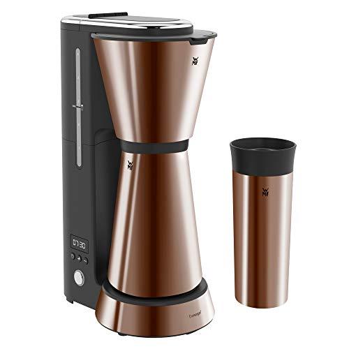 WMF Küchenminis Aroma Kaffeemaschine mit Thermoskanne (870 Watt, Filterkaffee 5 Tassen,...