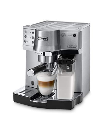 De'Longhi EC 860.M Espresso-Siebträgermaschine, Espressomaschine mit Milchystem für cremigen...
