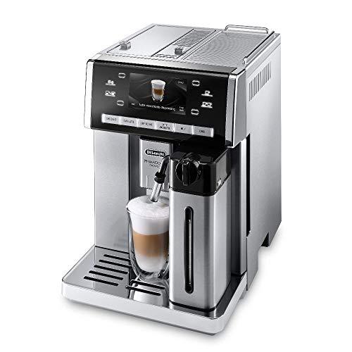 De'Longhi PrimaDonna ESAM 6900.M Kaffeevollautomat mit LatteCrema Milchsystem, Cappuccino und...