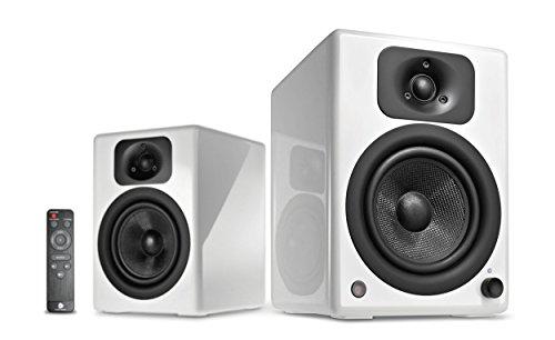 wavemaster TWO NEO white – Regallautsprecher-System (60 Watt) mit Bluetooth-Streaming, digitalen...