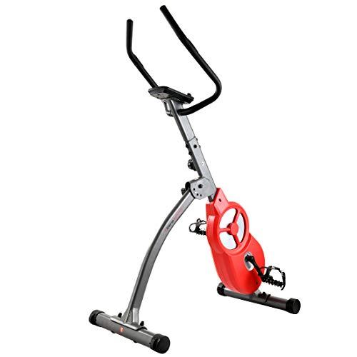 Ultrasport F-Bike 600 Pro Pedaltrainer, Hometrainer für Bein-und Bauchtraining, inklusive...