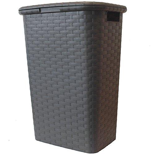 Wäschekorb Wäschebox Wäschetruhe Wäschekiste Wäschesammler Wäschetonne mit Deckel Kunststoff...